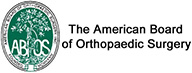 The American Board of Orthopaedic Surgery - ABOS